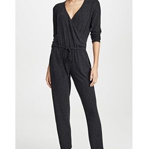 NWT Enza Costa comfy/stylish wrap jersey jumpsuit